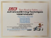 Teen Road to Safety class! Advanced Driving Techniques